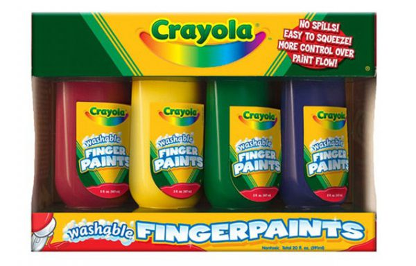 Пальчиковые краски Crayola