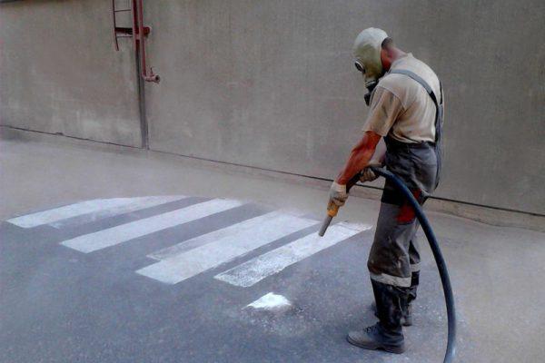 Подготовка бетонных полов к пропитке