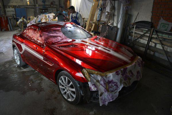 Покраска автомобиля краской Кэнди