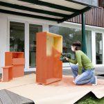 Нанесение краски на полированную мебель