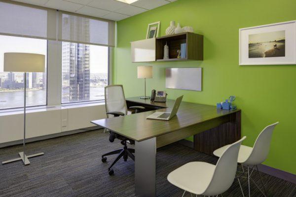 Зеленый цвет благоприятно влияет на зрение и способствует концентрации внимания
