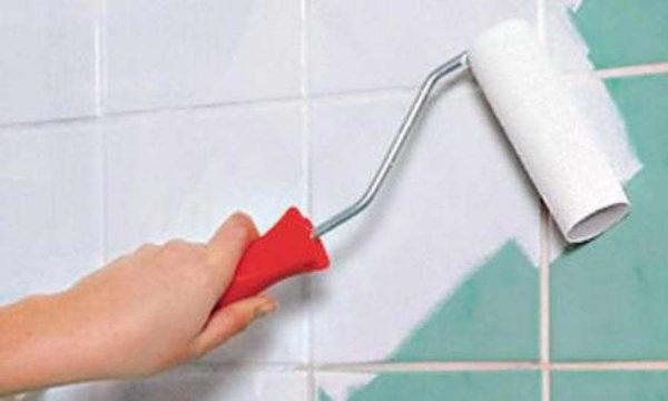 Покраска улучшает водоотталкивающие свойства керамической плитки
