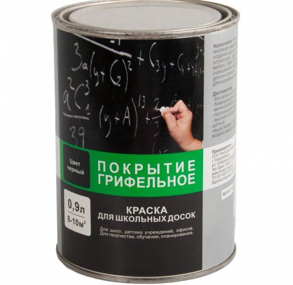 Грифельная краска на латексной основе ВДАК-1170