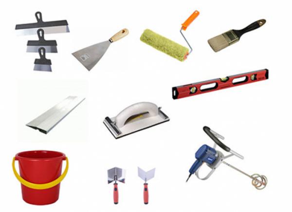 Набор инструментов для заделки швов между ГКЛ