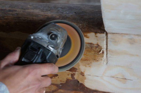 Подготовка деревянной поверхности под покраску