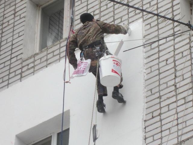 Утепляющая краска для фасадов жилых зданий