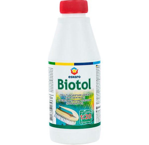 Средство для уничтожения плесени Biotol