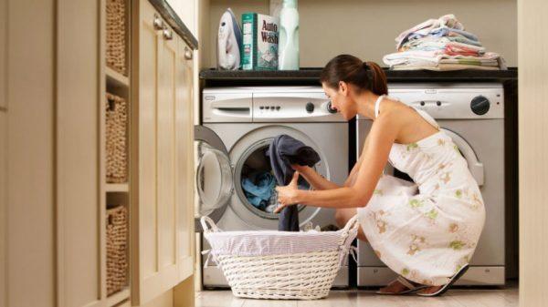 Удаление пятен от ржавчины в стиральной машине