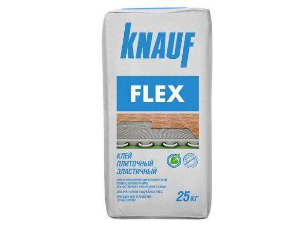 Клей плиточный эластичный КНАУФ-Флекс