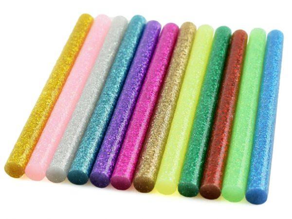 Цветные термоплавкие стержни