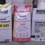 Сухие смеси для ячеистого бетоно
