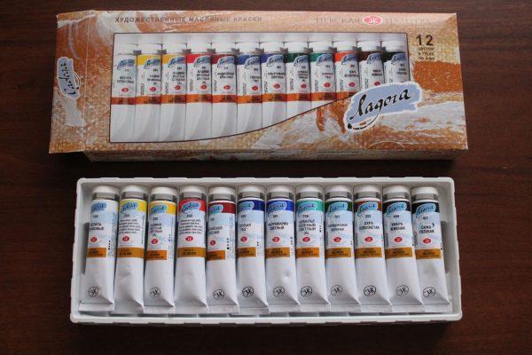 Эскизные масляные краски