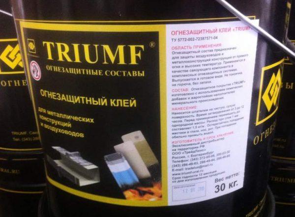 Огнезащитный состав Triumf