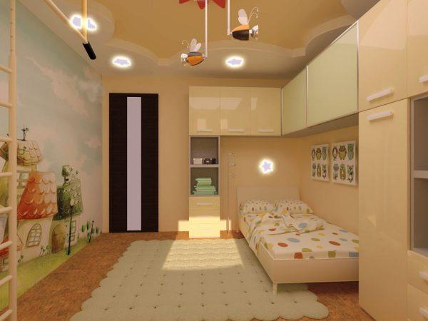 Использование при оформлении детской комнаты