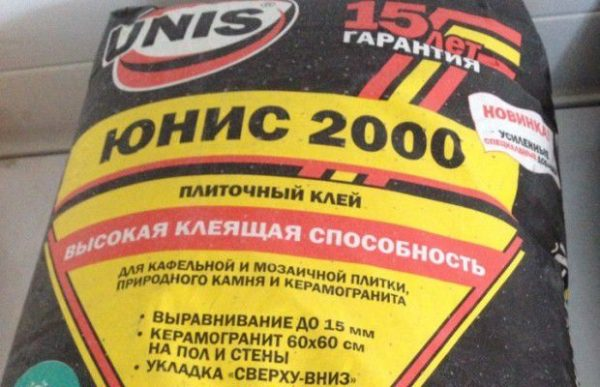 Юнис 2000 для мозаики и керамогранита