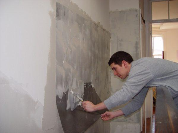 Подготовка поверхности под кафель