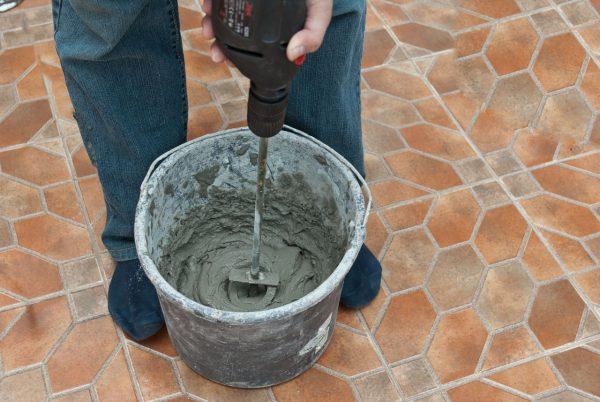 Приготовление клеевого раствора