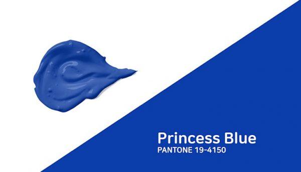 Глубокий синий тон Princess Blue