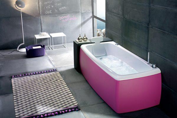 Фуксиновый экран ванны
