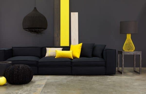 Сочетание черного и желтого