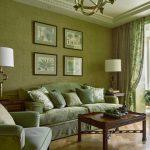 Оливковая комната