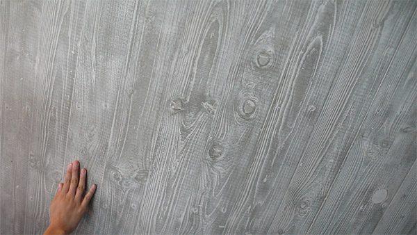 Отделка поверхности с имитацией различных текстур