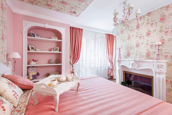 Розовый Прованс в интерьере