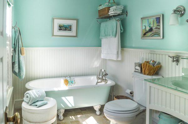 Прекрасно подходит для оформления ванной
