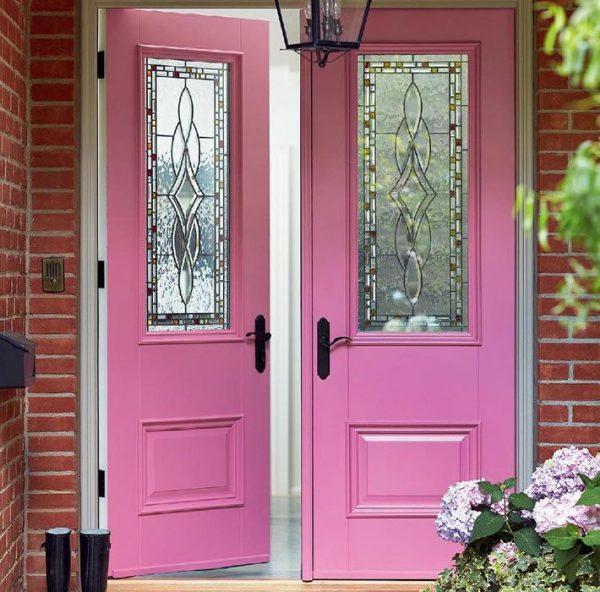 Оригинальный выбор цвета для двери