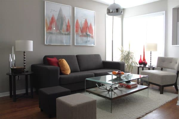 Яркие аксессуары для комнаты
