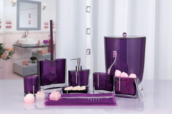 Фиолетовые аксессуары