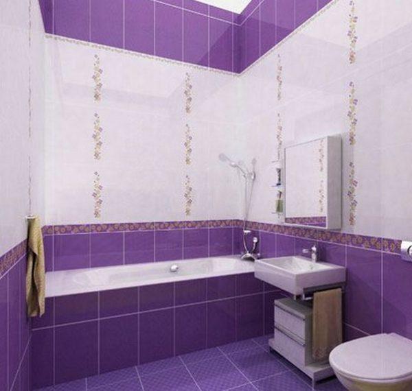 Фиолетовый не рекомендуется применять в небольших помещениях