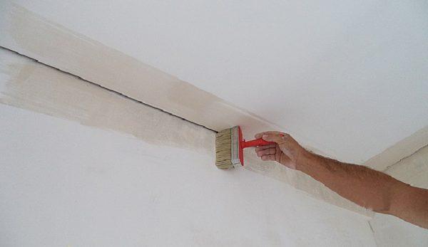 Подготовка поверхности под багеты
