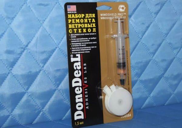 Ремкомплект для ремонта трещин и сколов