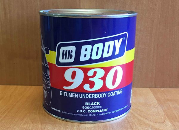 HB BODY 930 на основе битума