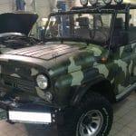 Камуфляж на УАЗ 469