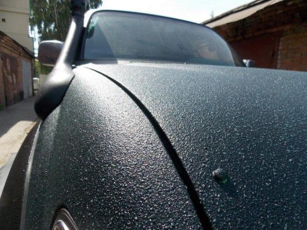 Краска Титан на автомобиле