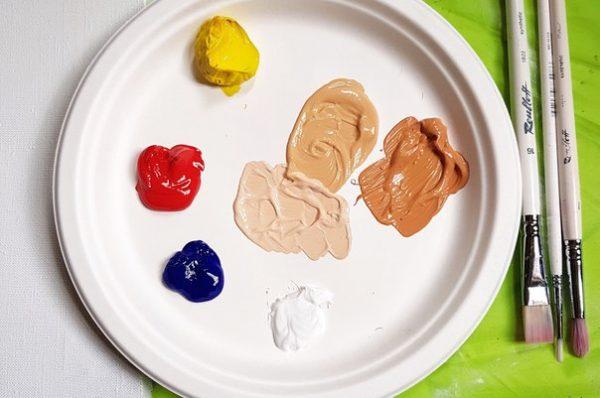 Краски для создания телесного цвета