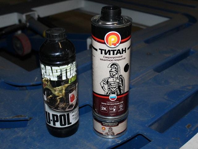Краска Раптор - технические характеристики и преимущества применения