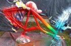 Окрашивание рамы велосипеда