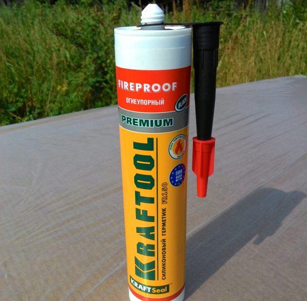 Силикатный пожаростойкий герметик