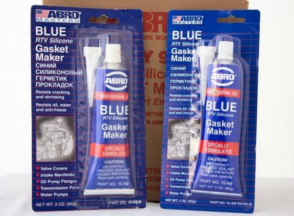 Синий силиконовый герметик прокладок