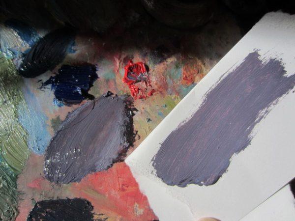 Краски для получения серого цвета