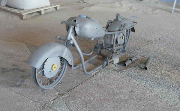 Обработка мотоцикла