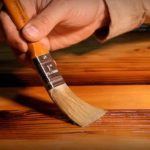 Травление древесины