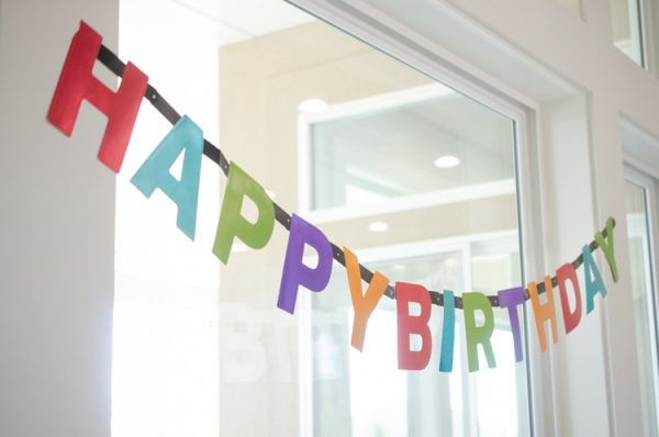 Растяжка с Днем Рождения