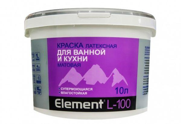 Латексная Element L-100 для ванной и кухни
