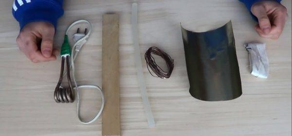 Материалы для изготовления клеевого пистолета
