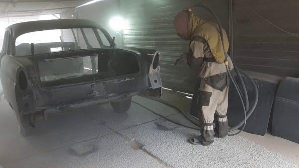 Средства защиты для работы с пескоструйным аппаратом
