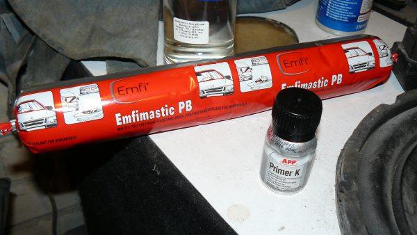 Эфимастика РВ для установки стекол